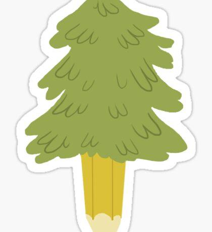 Trees Cutie Mark Sticker