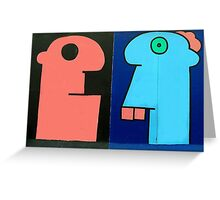 Graffiti Head  Greeting Card