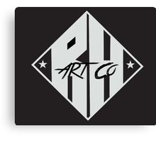 RHArtCo Logo Canvas Print
