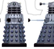 Doctor who Daleks design  Sticker
