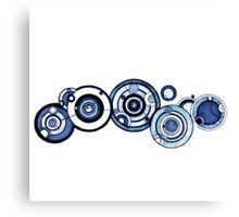 Doctor who Gallifreyan  Canvas Print