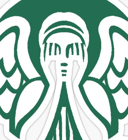Starbucks Don't Blink Sticker