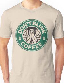 Weeping Angel of Original Starbucks Logo Unisex T-Shirt