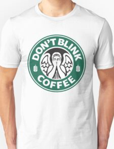 Weeping Angel of Original Starbucks Logo T-Shirt