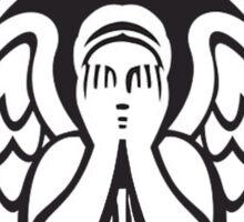 Weeping Angel of Original Starbucks Logo Sticker
