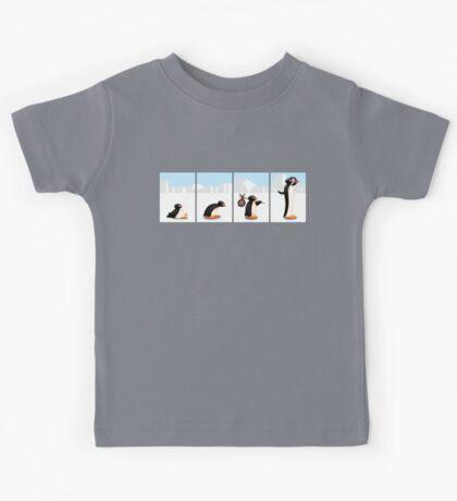 The penguin evolution Kids Tee
