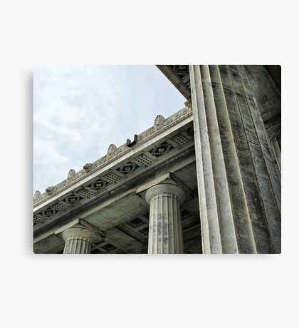 Presidential Pillars Canvas Print