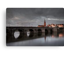 Along the Maas River  Canvas Print
