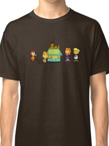 Shaggy Brown and The Scooby Crew  Classic T-Shirt