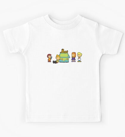 Shaggy Brown and The Scooby Crew  Kids Tee