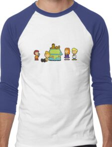 Shaggy Brown and The Scooby Crew  Men's Baseball ¾ T-Shirt