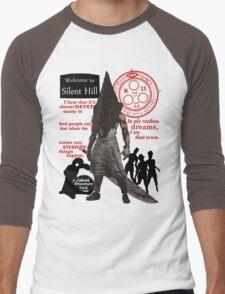 Silent Hill Men's Baseball ¾ T-Shirt