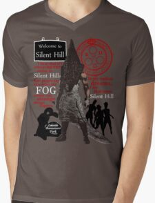 Silent Hill Mens V-Neck T-Shirt