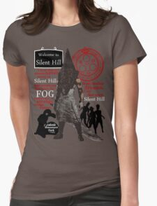 Silent Hill Womens Fitted T-Shirt