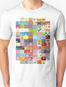All Johto Wallpapers Unisex T-Shirt