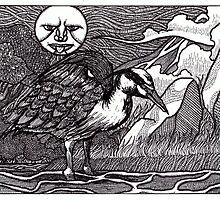 Heron by Ronan Crowley
