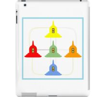 5 Buddhism Stupas iPad Case/Skin