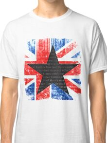 David Bowie Black Star Space Oddity Classic T-Shirt