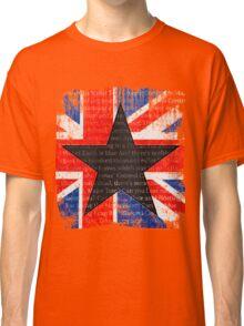 David Bowie Black Star Space Oddity Classic T-Shirt