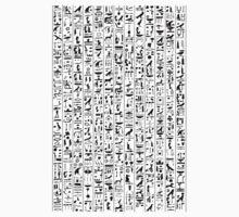 Hieroglyphics B&W Baby Tee