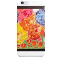 Floral Dream.  Waiting for spring series. Painting Andrzej Goszcz. iPhone Case/Skin