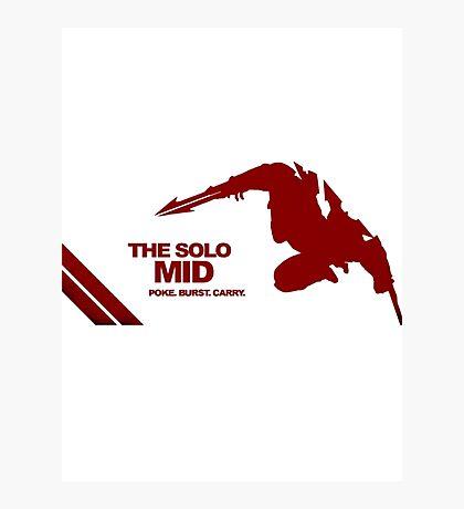 The Solo Mid League of Legend Zed Photographic Print