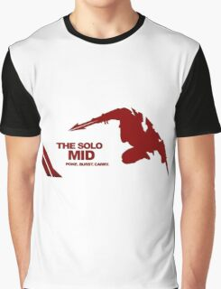 The Solo Mid League of Legend Zed Graphic T-Shirt