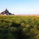 Mont Saint-Michel by Johannes Valkama