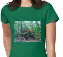 tree root Womens Fitted T-Shirt