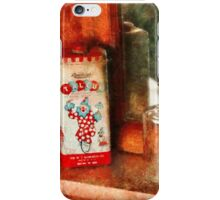Barber - On a barbers counter  iPhone Case/Skin