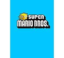 SUPER MARIO BROS. QUESTION BOX! Photographic Print