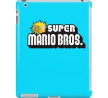 SUPER MARIO BROS. QUESTION BOX! iPad Case/Skin