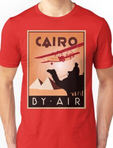 Cairo by air retro vintage travel Unisex T-Shirt