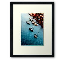Morning by Bonaire  Framed Print