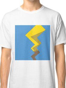 Minimalist Pikachu Tail Classic T-Shirt