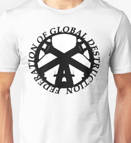 FGD(FEDERATION OF GLOBAL DESTRUCTION) Unisex T-Shirt