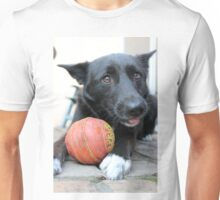 Puppy with ball Unisex T-Shirt