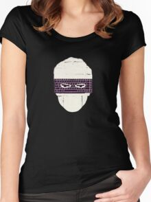 Watching u , Women's Fitted Scoop T-Shirt