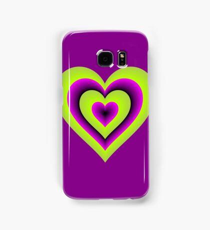 Expanding Heart Samsung Galaxy Case/Skin