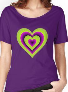 Expanding Heart Women's Relaxed Fit T-Shirt