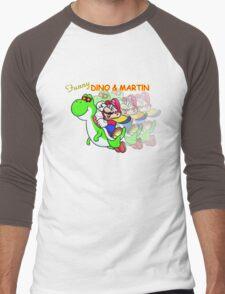 Funny DINO & MARTIN Men's Baseball ¾ T-Shirt