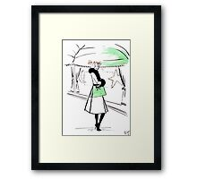 First Look of Winter Framed Print