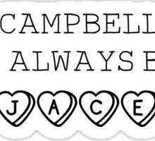 Jamie CB - Jace Sticker