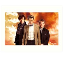 WhoLock Group Art Print