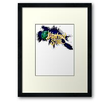 Phantasy Of The Stars Framed Print