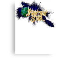 Phantasy Of The Stars Canvas Print