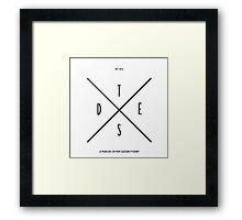 TSDOE Logo - Minimal Framed Print