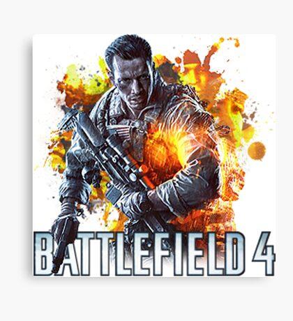 Battlefield 4 Canvas Print