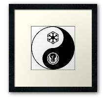 Ying and Yang, The Republic and the Empire Framed Print