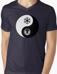 Ying and Yang, The Republic and the Empire Mens V-Neck T-Shirt